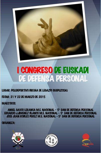 I Congreso Euskadi de Defensa Personal