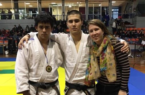 Felipe Aaron campeonato junior de Gipuzkoa 13 de enero 2018